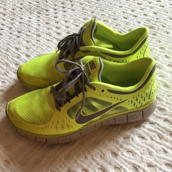 92f78aa04f0a4 ... order nike neon yellow free run 3 sneakers 15a25 ba9e1